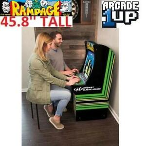 NEW RED PLANET RAMPAGE ARCADE GAME 245952965 ARCADE 1UP GAUNTLET JOUST DEFENDER MACHINE CABINET CLASSIC