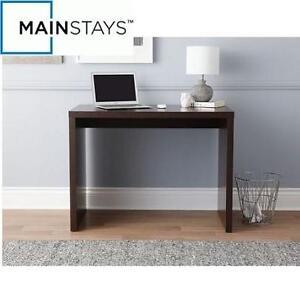 NEW MAINSTAYS COMPUTER DESK - 110680064 - ESPRESSO BROWN FINISH