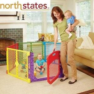 NEW NORTH STATE COLOR PLAYARD SUPER YARD COLOR PLAY ULTIMATE GATE - RED - BLUE - GREEN - YELLOW 107206208