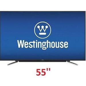 NEW OB WH 55'' 4K SMART LED TV - 117920249 - WESTINGHOUSE WE55UC4200