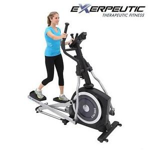 NEW EXERPEUTIC MAGNETIC ELLIPTICAL - 108532934 - EXERCISE EQUIPMENT FITNESS SUPER HIGH CAPACITY 21'' LONG STRIDE 2 BOXES