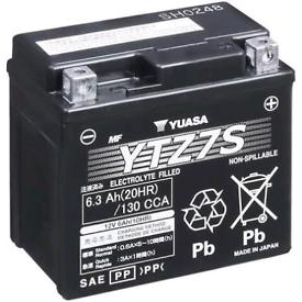 Motorcycle moped ytz7s battery
