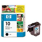HP 10 Printhead Black