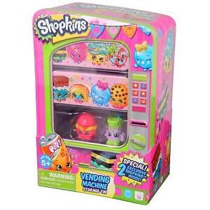 NEW SHOPKINS MACHINE PLAYSET PACKAGING MAY VARY - 2 EXCLUSIVE SHOPKINS WITH STORAGE TIN 102126091