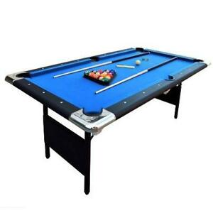 NEW CARMELLI PORTABLE POOL TABLE NG2574 189152286 6' FAIRMONT