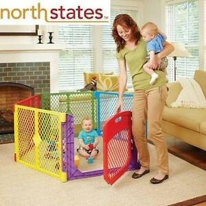 NEW* NORTH STATE COLOR PLAYARD - 111195076 - SUPER YARD COLOR PLAY ULTIMATE GATE - RED - BLUE - GREEN - YELLOW