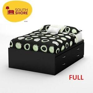 NEW SOUTH SHORE FULL STORAGE BED - 116313952 - SOHO COLLECTION BLACK
