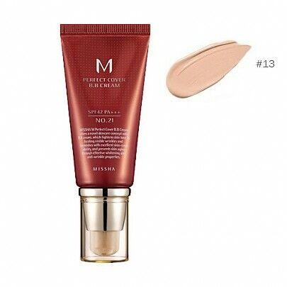Missha M Perfect Cover BB Cream 16 packs X 50ml No.21 Bright