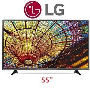 NEW OB LG 55''4K SMART LED TV - 117294882 - ULTRA HD 55UH6030
