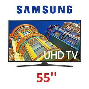 NEW* SAMSUNG 55'' 4K SMART LED TV - 117204675 - UN55J6300FXZA