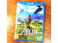 Zelda - Breath of the Wild for WiiU - Brand New