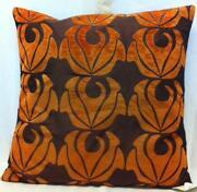 Burnt Orange Cushion Covers