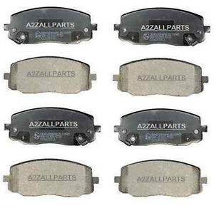 Kia-Picanto-1-0-1-1-04-05-06-07-08-09-10-Brake-Pads-Set-Front-Rear-Back