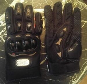 New Armored Motorcycle Gloves