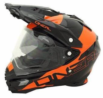 ONeal 2016 Sierra Dual Sport Helmet Black & Orange Extra Large