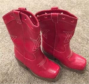 NEW Gymboree kids cowboy/cowgirl boots, size 9
