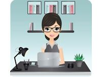 Independent Personal Assistant available for all of your admin needs