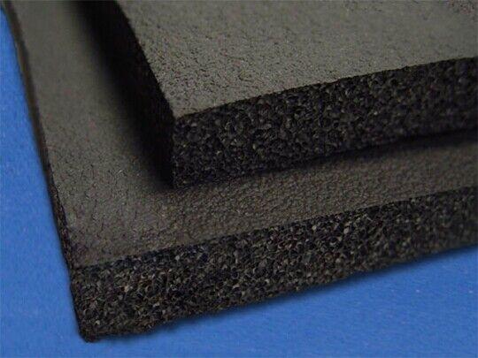 Gym Rubber - Black - 1/8 - Full Sheet 96 x 54
