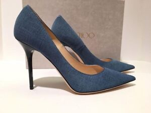 Brand New Jimmy Choo Abel in Light Indigo Size 35.5