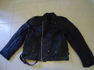 Mens XL leather jacket, casual or for motorbike