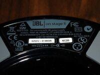 JBL ipod docking station & speaker