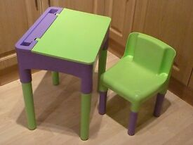 Junior desk and chair