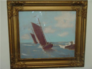 Pastel Artwork by well known Canadian Artist, HALFRED A. TYGESEN