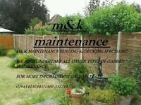 M&K MAINTENANCE FENCING SERVICES