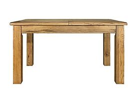 Solid Oak table and chairs for sale. (toulouse table and Toulouse chairs from Harveys)