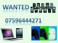 (WANTED)IPHONE 6S PLUS IPHONE 6 6 PLUS 5S SE HTC S6 S7 EDGE APPLE WATCH LG G4 G5 XBOX PS4 IPAD AIR