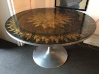 1960s Round Dining Table by Poul Cadovius and Susanne Fjeldsoe Mygge for France & Sons.