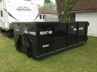 Dumpster and storage rentals