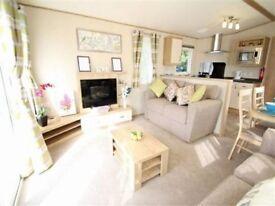 Platinum caravan for rent at Crimdon Dene holiday park