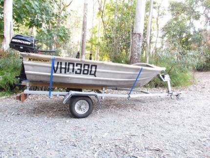 3m Mantra with near new New Mercury 6hp motor Whiteside Pine Rivers Area Preview
