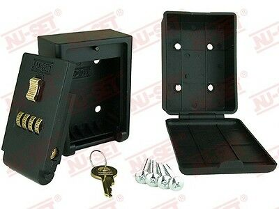Wall Mount Key Storage Lock Box 4-Number Lockbox - seniors,