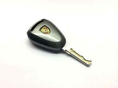 Gloss Metallic Grey Remote Key Protection Case For Porsche 987 997 Pre-Facelift