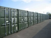 Storage Solutions. Self Store Container Storage, Warehousing & Distribution.