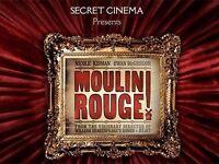 2 x Secret Cinema Moulin Rouge ARISTOCRAT Tickets - 5th April, SOLD OUT