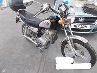 2015 HUONIAO HN 125-8 - REG: LJ15SXA - Motorcycle - 125, Petrol
