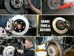 ROTORS & PADS From $250  BATTERY $50 OIL CHANGE From $39.00  SAFETY $99.00 TIRES From $49.00  GENERAL INSPECTION