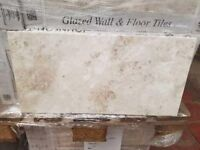 10 Boxes of Johnsons Fresco Beige Tiles 600 x 300