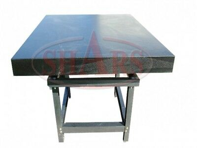 Granite Surface Plate And Stand. 36x48x6. Ship By Freight Paid By Buyer B Grade