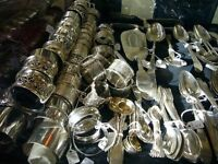 Wanted - any solid silver antiques - cash paid