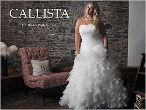 Stunning Plus Size Callista Wedding Dress