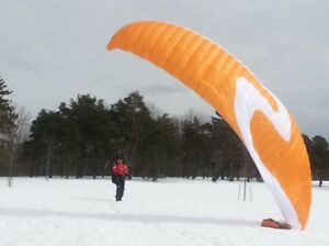 paraglider Cima K2 and harness