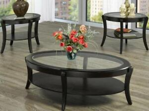 LIVING ROOM TABLE | GLASS COFFEE TABLE CANADA (IF2301)