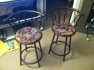 Swivel Bar Stools.