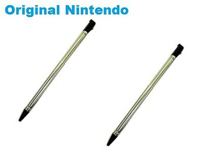 2 x OEM Nintendo 3DS Stylus(Metal Retractable)-CTR-004-Bulk-New***US SELLER***