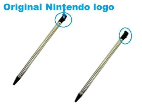 Lot 2 x OEM Nintendo 3DS Retractable Metal Stylus-CTR-004-Bulk-New  *US SELLER*