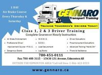 Air Brakes, PDIC, Log Books, Load Securement, TDG/WHMIS Courses